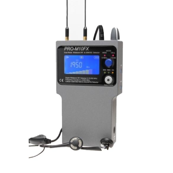 PRO-M10FX Dual Mode Wideband RF